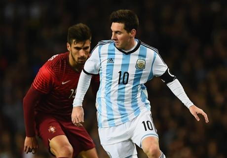 Argentina saca lo mejor de Messi