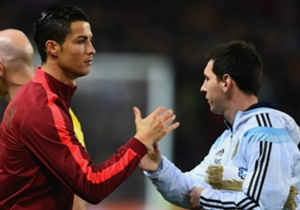 Cristiano Ronaldo and Lionel Messi went head to head with their national teams on Tuesday as Portugal faced Argentina in an international friendly