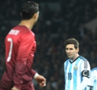 GALLERY: Messi and Ronaldo head-to-head at Old Trafford