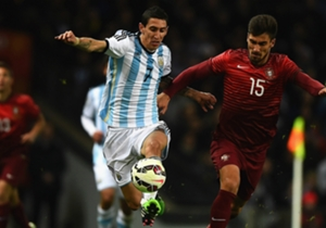 Angel Di Maria, Martin Demichelis, Erik Lamela, Jose Fonte | Portugal 1-0 Argentina | International friendly