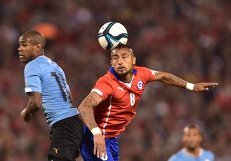 Match Report: Chile 1-2 Uruguay