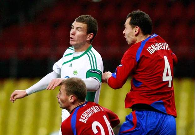 CKSA Moscow 2-1 Wolfsburg: Milos Krasic Fires Russians To Comeback Victory