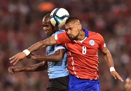 Amistoso: Chile 1-2 Uruguay
