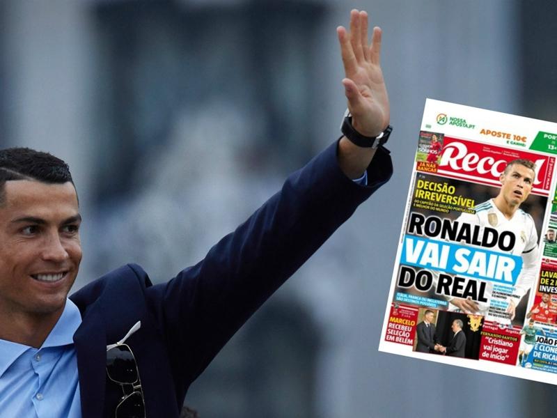 """Real Madrid : la presse portugaise annonce un départ de Cristiano Ronaldo, une """"décision irréversible"""""""
