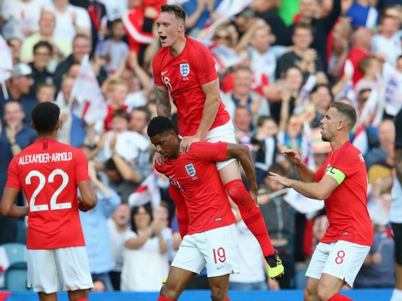 Rashford leads England past Costa Rica