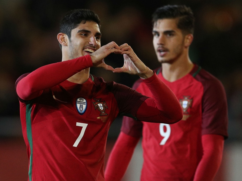 Portugal 3 Algeria 0: Guedes at the double in Ronaldo's 150th outing