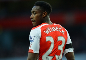 Danny Welbeck | The striker missed the 2-0 win over Borussia Dortmund with a knee problem.