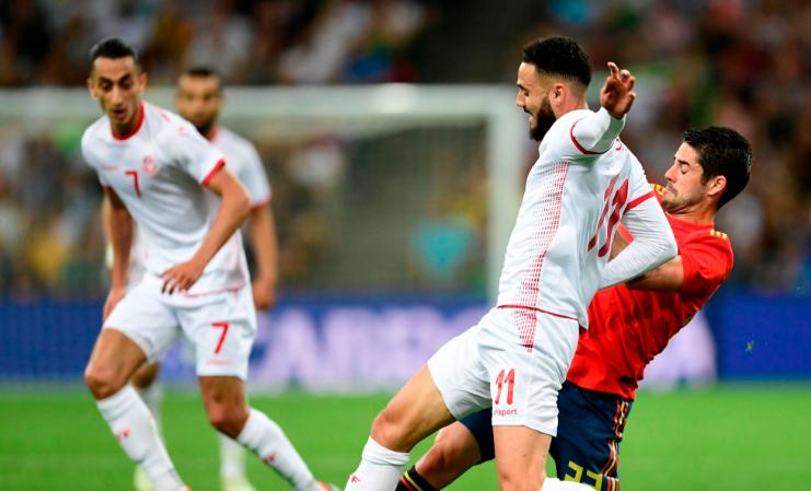 الجعايدي يحذر منتخب إنجلترا من نسور قرطاج