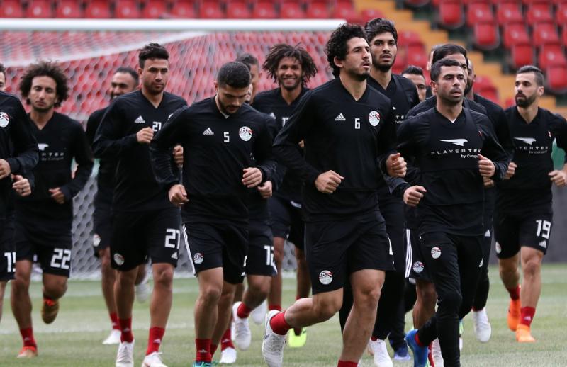 المنتخب المصري يغادر إلى فولجرجراد استعدادًا لمواجهة السعودية