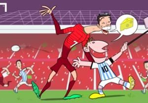 Ronaldo & Messi fail to shine at Old Trafford