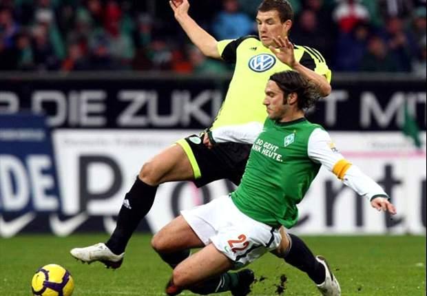 Bundesliga Saturday Round-up: Late Bremen Hold Wolfsburg, Dortmund Down Hoffe, M'gladbach Stun Schalke