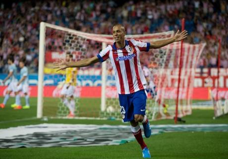 Atletico, Miranda absent une semaine