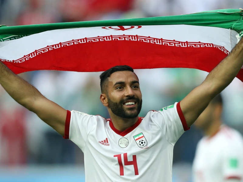Shot-shy Iran make World Cup history against Morocco