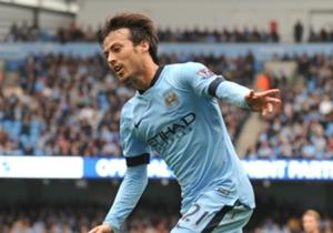 DAVID SILVA | MANCHESTER CITY - Enorme, marcó dos goles en el mejor partido del Manchester City de la temporada. Está recuperando su mejor forma