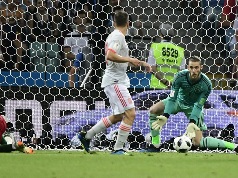 De Gea 'calm' and focused on topping Iran after Ronaldo goal gaffe