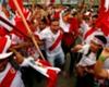 Perulu taraftar Dünya Kupası bileti için 25 kilo almış!