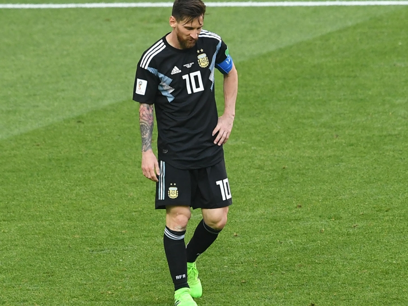 Latest World Cup Odds: Messi misfires as Argentina can only draw with Iceland