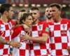 Croatia celebrate Luka Modric's penalty