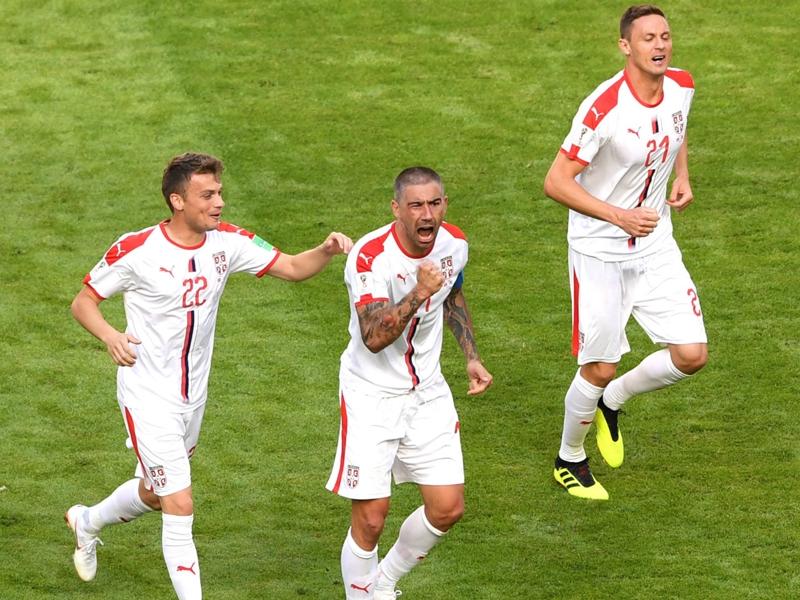 Costa Rica 0 Serbia 1: Kolarov stunner seals points