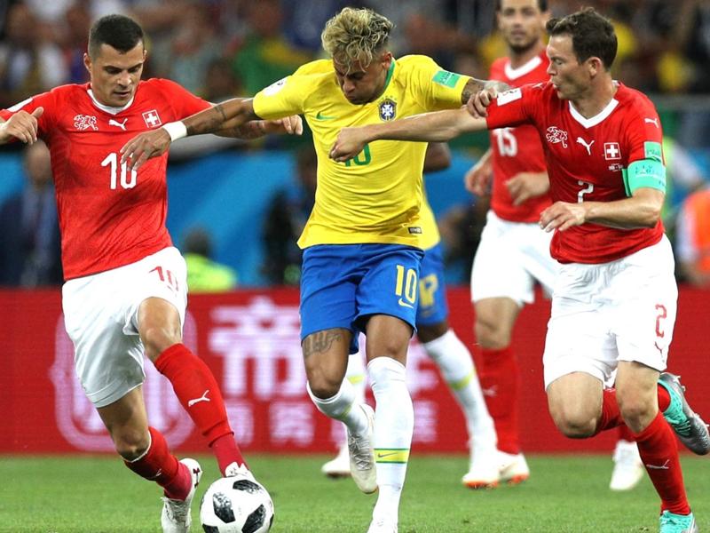 Brésil-Suisse 1-1, la Suisse tient tête au Brésil