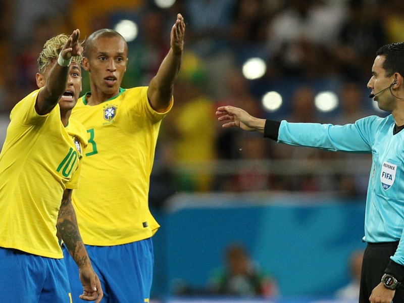 'Neymar roughed up and Miranda shove missed' - Marta left pondering the point of VAR