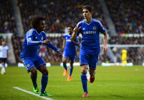 'Mourinho good for Oscar and Willian'