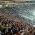 Al choque del pasado miércoles asistieron cerca 35.393 personas.