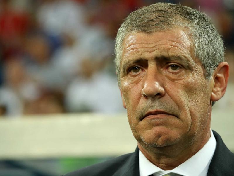 """Portugal, Ferando Santos : """"Pas de Cristiano Ronaldo dépendance"""""""
