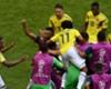 festejo gol Colombia Japon WC Russia 19062018