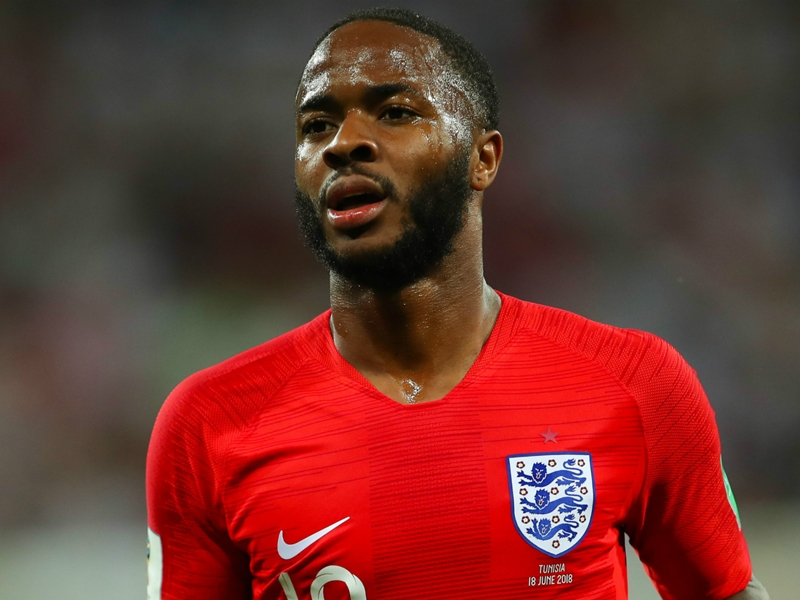 Sterling proud of England for refusing to rise to Colombia's 'silly' games