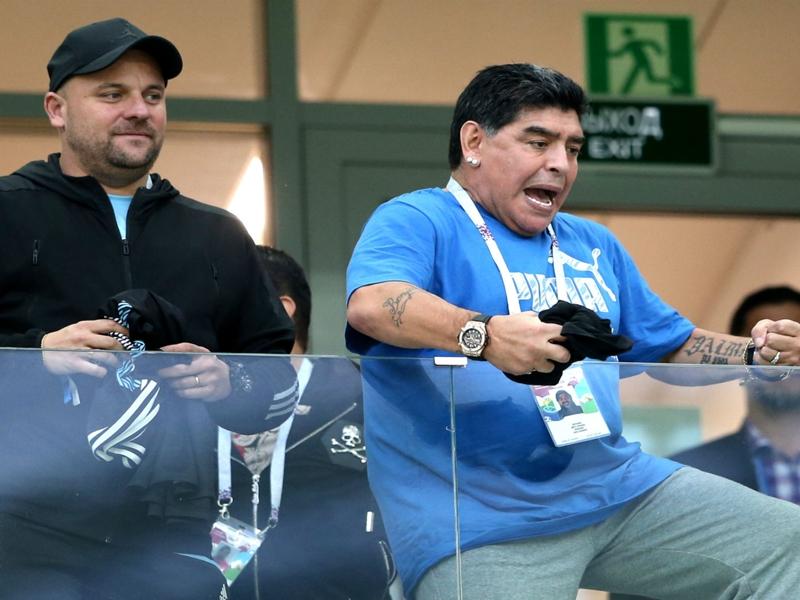 مارادونا : الاتحاد الأرجنتيني وسامباولي سبب فضيحة مباراة كرواتيا