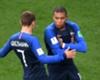 France forwards Antoine Griezmann and Kylian Mbappe
