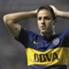 Martínez no pudo seguir tras el choque con Vangioni.