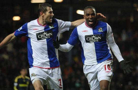 Blackburn Rovers' South African sensation Benni McCarthy is delighted with a win over Chelsea (Getty Images)