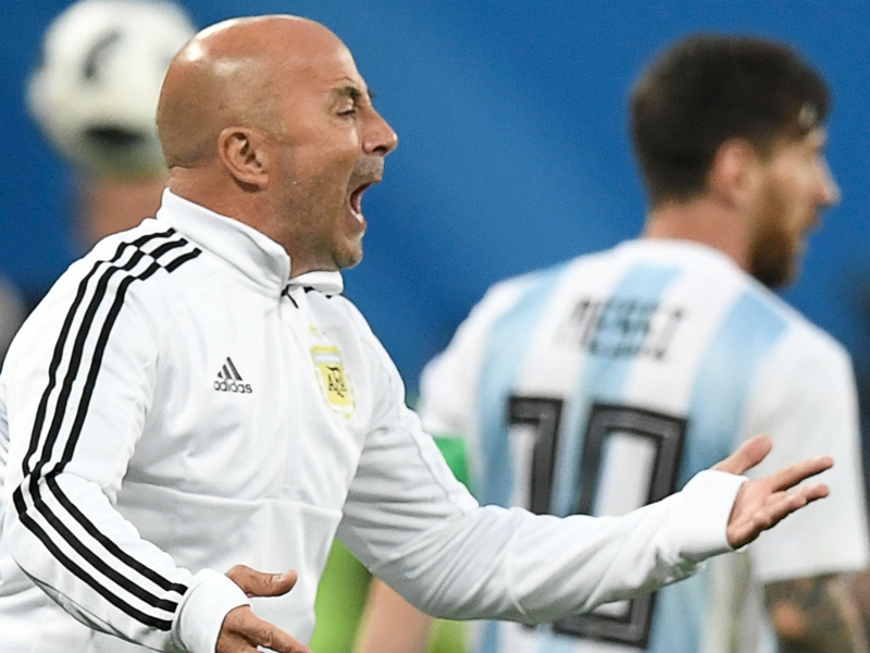 Sampaoli 'learned a lot' from Argentina's failed World Cup campaign