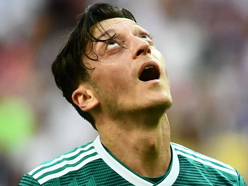 Ozil criticism branded 'pathetic' after Bierhoff hits Germany star 'below the belt'
