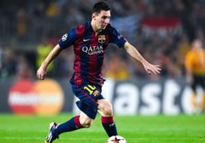 Lionel Messi solamente ha podido marcar siete goles en lo que va de la Liga.