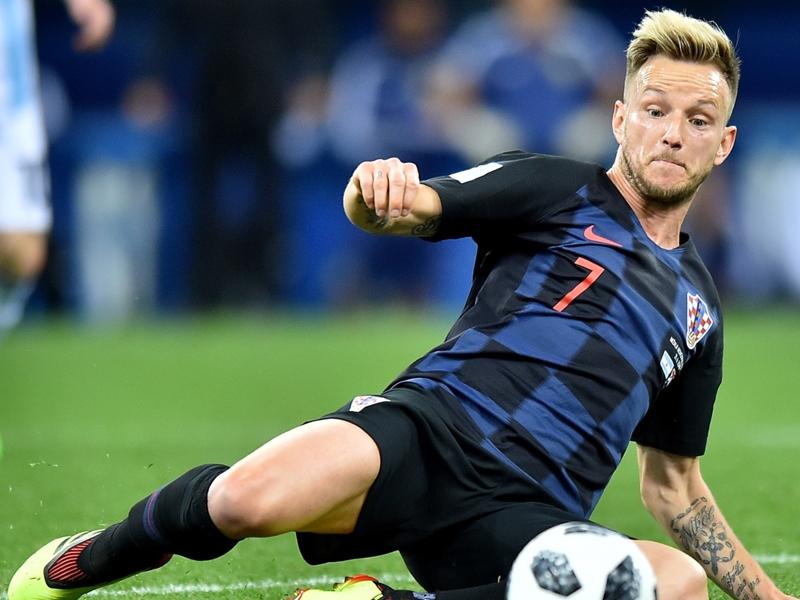 Avant la finale contre la France, Ivan Rakitic se félicite du soutien de la popularité de la Croatie