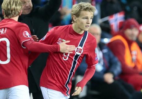 Ödegaard solo firma si juega en Primera