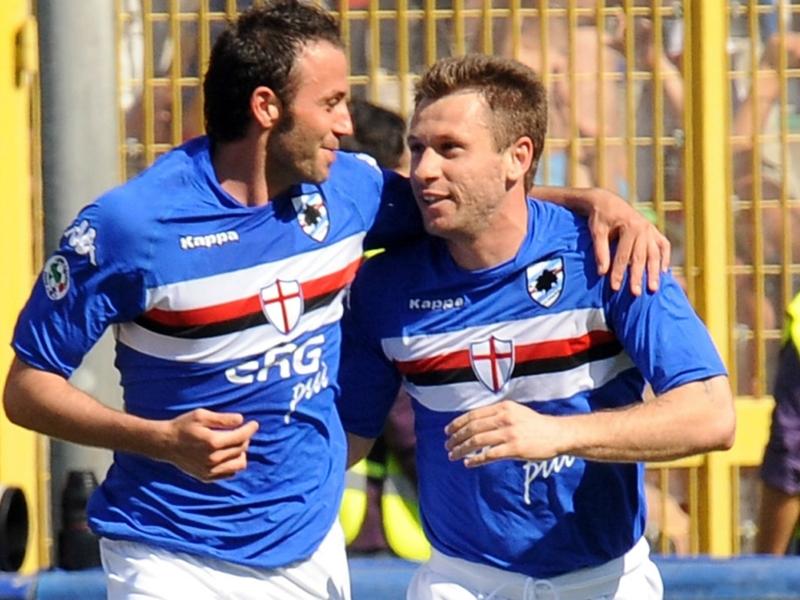 Ultime Notizie: Cassano e Pazzini di nuovo insieme alla Sampdoria? Solo a giugno...