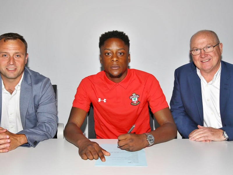 Jonathan Afolabi signs professional contract with Southampton, out to emulate Shaw, Chamberlain