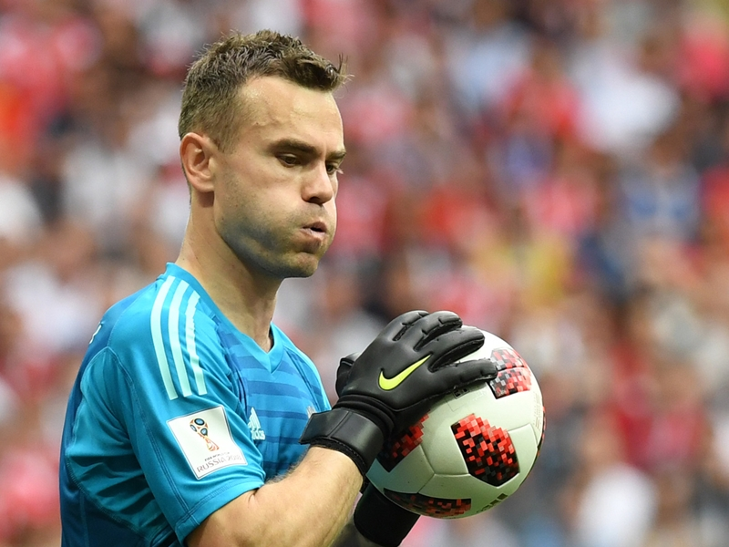 Video: Russia didn't practise penalties - Akinfeev