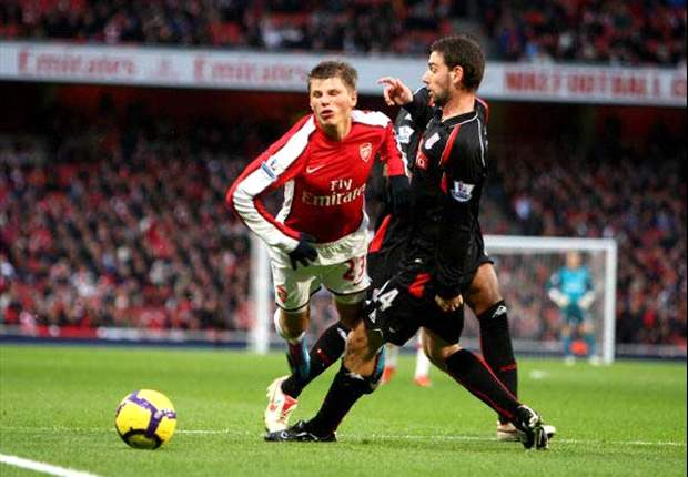Arsenal 2-0 Stoke City: Andrey Arshavin Catalyst For Rejuvenating Win