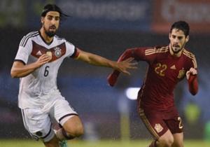 Sami Khedira und Isco kämpfen bei Real Madrid um einen Stammplatz