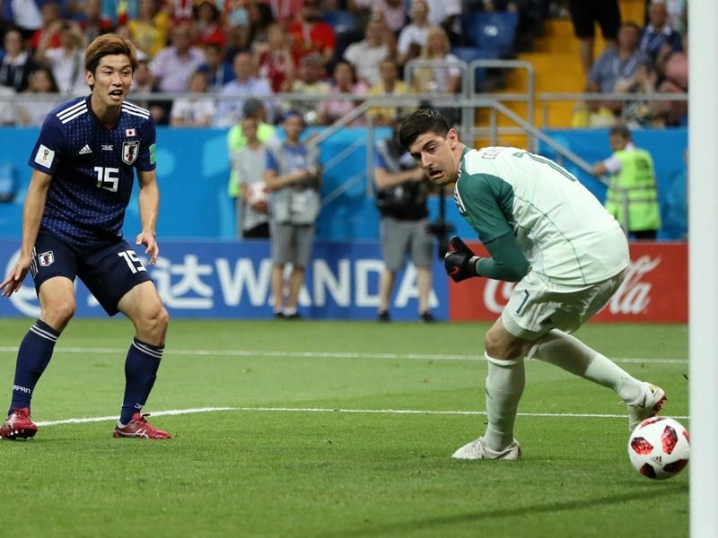 كورتوا بعد الفوز على اليابان: أثبتنا أننا شجعان