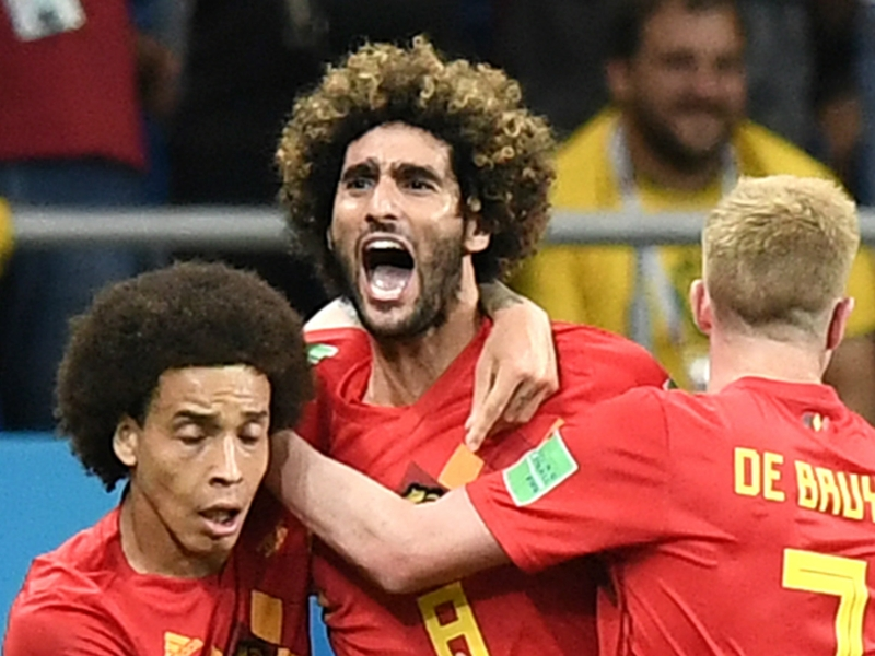 Brazil vs Belgium team news: Fellaini and Chadli start World Cup quarter-final