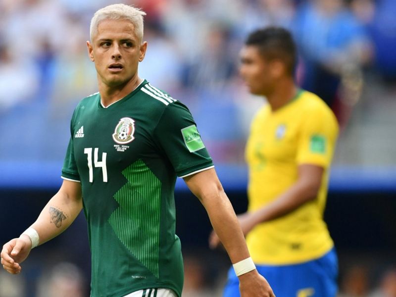 Chicharito wants Mexico's World Cup to inspire despite defeat to Brazil