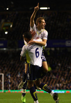 EPL: Michael Dawson, Everton - Tottenham (Getty Images)