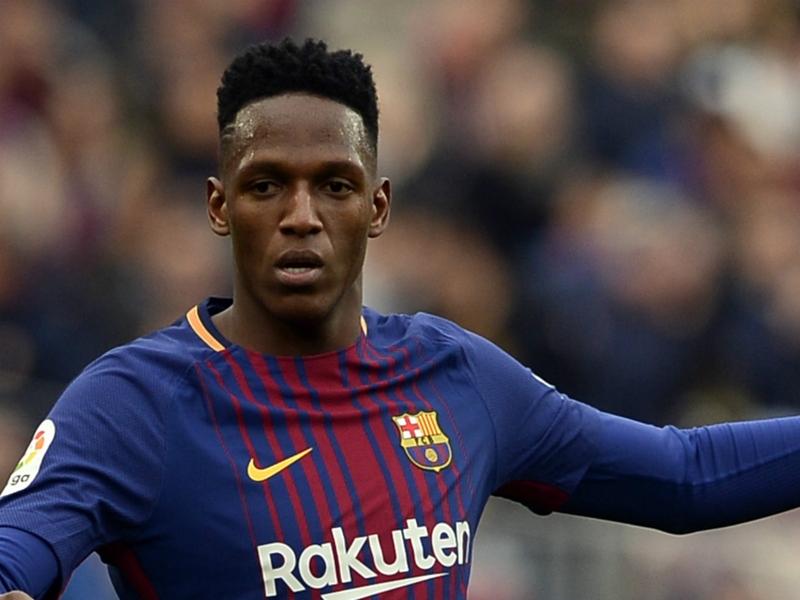 Everton launch €24m bid for Barcelona star Mina