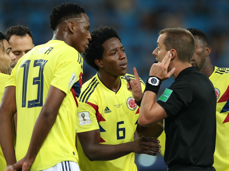 Colombian petition for FIFA to review England match attracts over 270,000 signatures